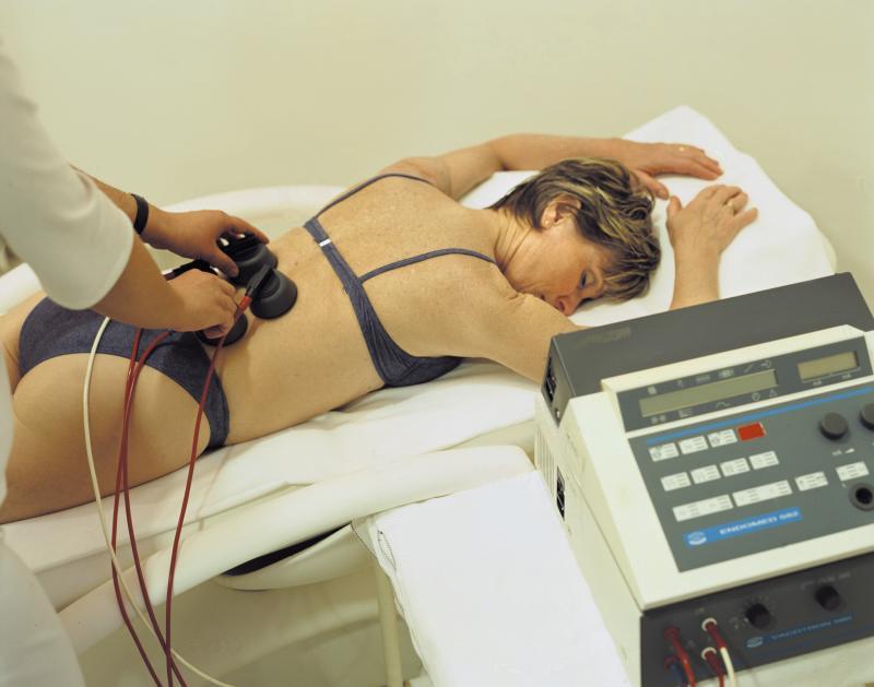 Электрофарез с массажем
